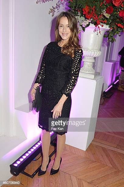 Actress Estelle Skornik attends 'Aloha' Luxury Shop 1rst Anniversary Party Cocktail At Salons Hoche on December 19 2014 in Paris France
