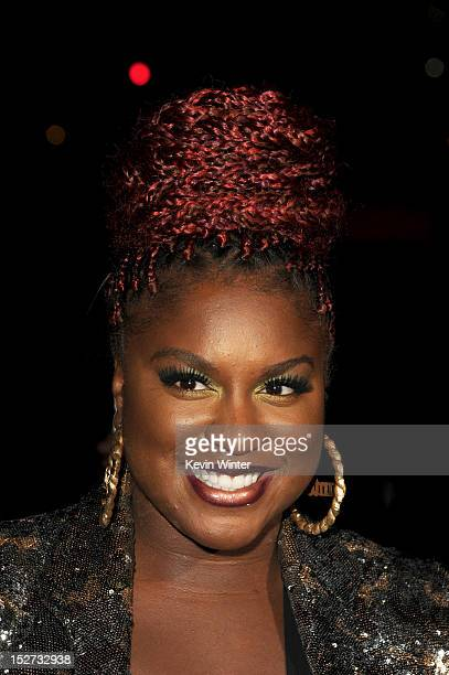 Actress Ester Dean arrives at the premiere of Universal Pictures And Gold Circle Films' Pitch Perfect at ArcLight Cinemas on September 24 2012 in...