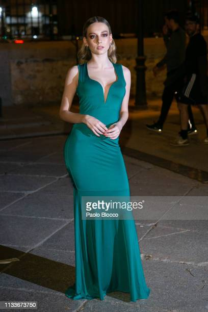 Actress Ester Exposito arrives at the Fotogramas Awards 2019 Gala at Florida Retiro on March 04 2019 in Madrid Spain