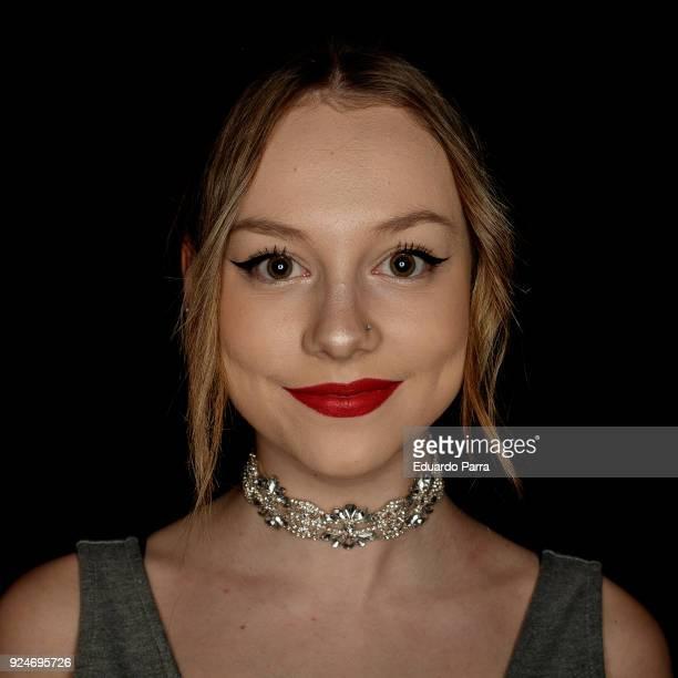 Actress Ester Exposito attends the 'Fotogramas de Plata' awards at Joy Slava disco on February 26 2018 in Madrid Spain