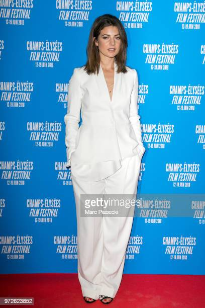 Actress Esther Garrel attends the 7th Champs Elysees Film Festival at Cinema Gaumont Marignan on June 12 2018 in Paris France