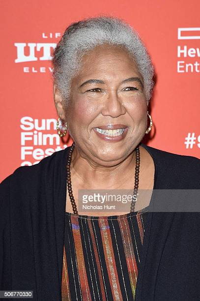 Actress Esther Scott attends The Birth Of A Nation premiere during the 2016 Sundance Film Festival at Eccles Center Theatre on January 25 2016 in...