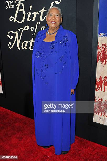 Actress Esther Scott attends the Premiere of Fox Searchlight Pictures' The Birth of A Nation at ArcLight Cinemas Cinerama Dome on September 21 2016...