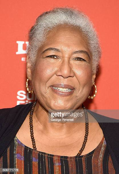 Actress Esther Scott attends the The Birth Of A Nation Premiere during the 2016 Sundance Film Festival at Eccles Center Theatre on January 25 2016 in...