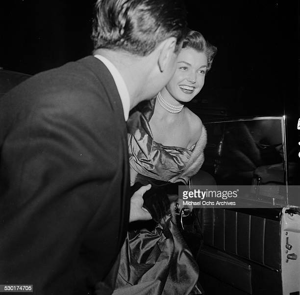 Actress Esther Williams attends the movie premiere of An American in Paris in Los AngelesCA