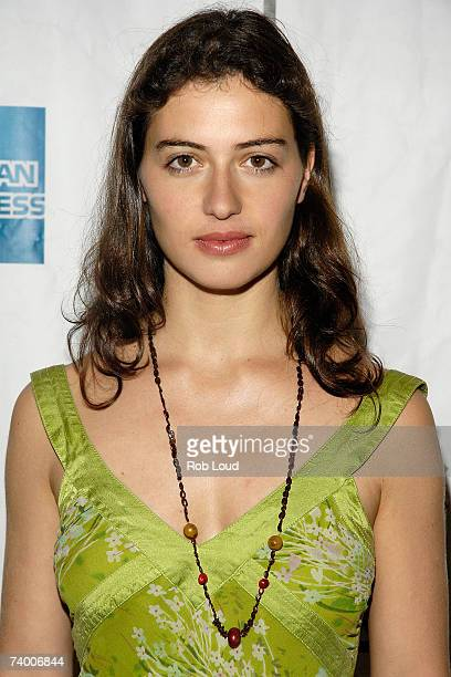 """Actress Esther Zimmering attends the premiere of """"Vivere"""" at the 2007 Tribeca Film Festival on April 26, 2007 in New York City."""