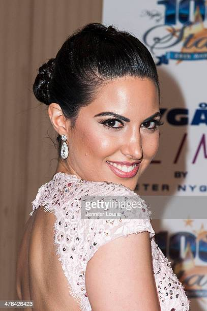 Actress Estrella Nouri attends Norby Walters' 24nd Annual Night of 100 Stars Oscar Viewing Gala at Beverly Hills Hotel on March 2 2014 in Beverly...