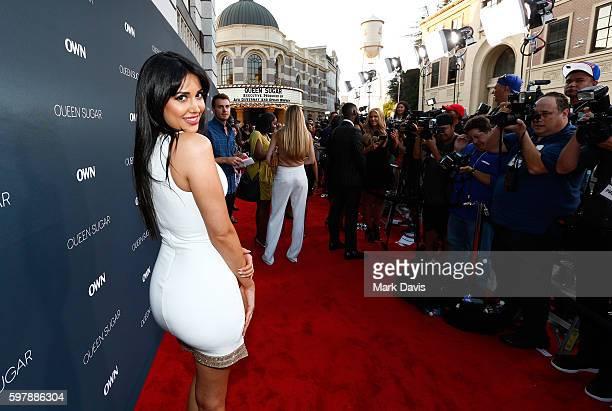 "Actress Estrella Nouri attends OWN Oprah Winfrey Network's ""Queen Sugar"" premiere at the Warner Bros Studio Lot Steven J Ross Theater on August 29..."