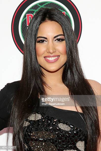 Actress Estrella Nouri attends the 45th NAACP Image Awards presented by TV One at Pasadena Civic Auditorium on February 22 2014 in Pasadena California
