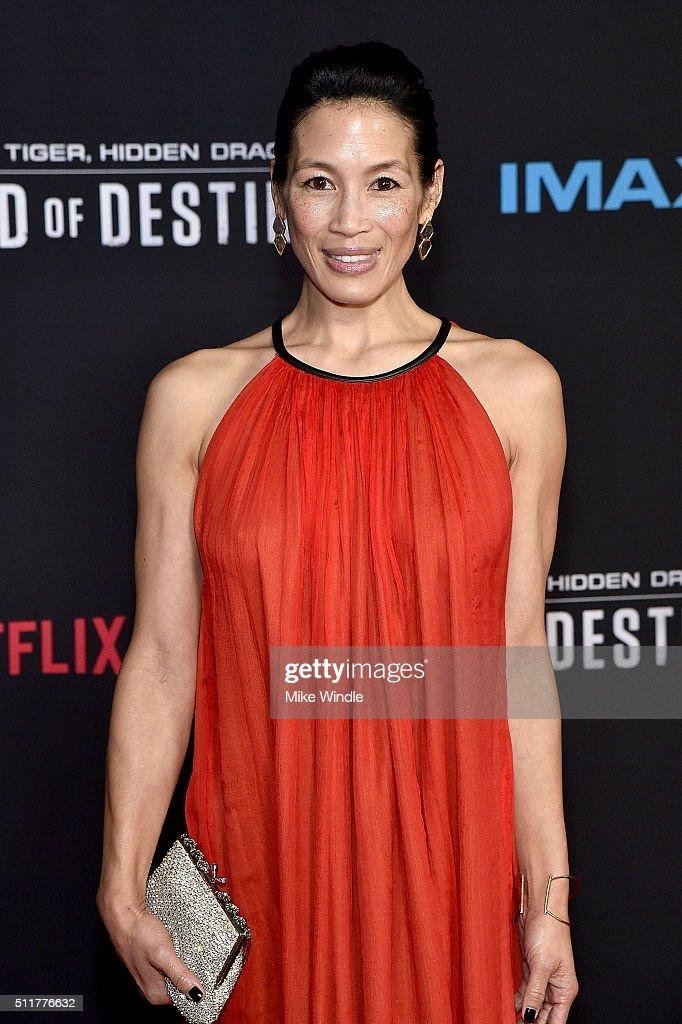 "Premiere Of Netflix's ""Crouching Tiger, Hidden Dragon: Sword Of Destiny"" - Arrivals : Foto jornalística"