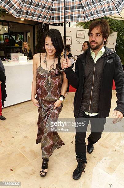 Actress Eugenia Yuan attends the Sparkling Hill Resort & GBK Productions Luxury Retreat during the Cannes Film Festival on May 18, 2013 in Cannes,...