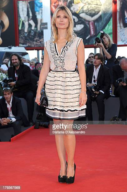 Actress Euridice Axen attends the The Zero Theorem Premiere during the 70th Venice International Film Festival at Sala Grande on September 2 2013 in...