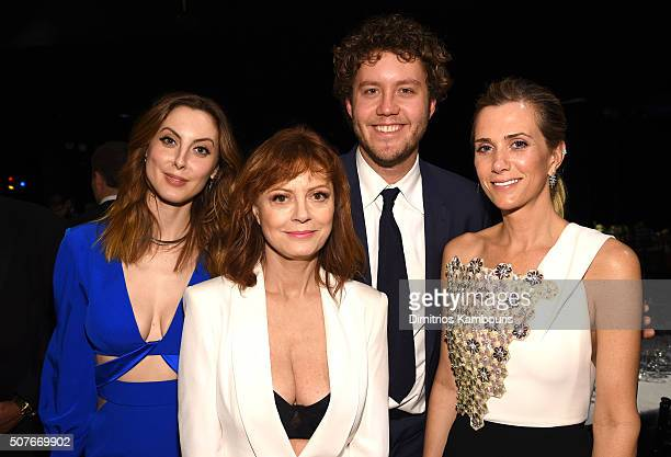 Actress Eva Amurri actress Susan Sarandon director Jack Henry Robbins and actress Kristen Wiig in the audience during The 22nd Annual Screen Actors...
