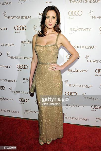 Actress Eva Amurri arrives at Audi presents The Art of Elysium's 5th annual HEAVEN at Union Station on January 14, 2012 in Los Angeles, California.