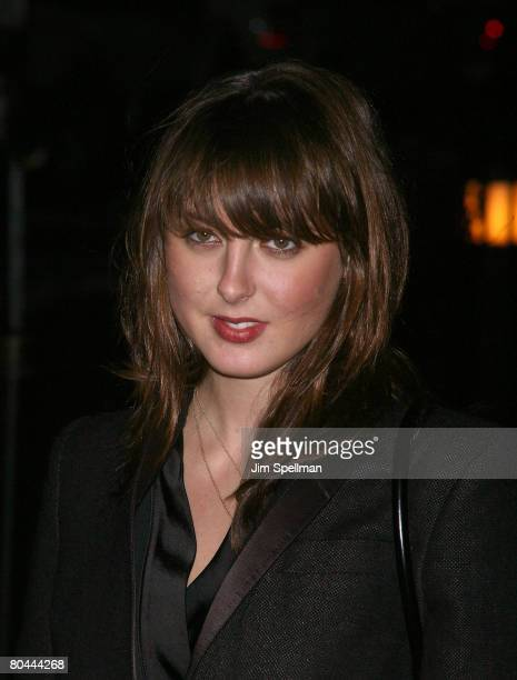 Actress Eva Amurri arrives at The Cinema Society and Piaget Hosted Screening of Revolver at the Tribeca Grand Screening Room on December 2 2007 in...