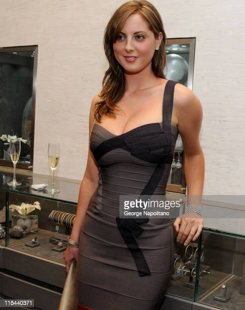 Actress Eva Amurri at the grand opening of the Kwiat flagship boutique on Madison Avenue in New York City on September 3 2008 in New York City