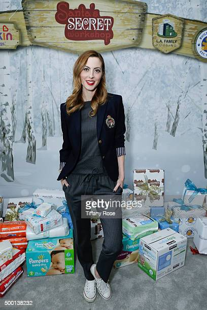 Actress Eva Amurri attends 2015 Santa's Secret Workshop Benefiting LA Family Housing at Andaz Hotel on December 5 2015 in Los Angeles California