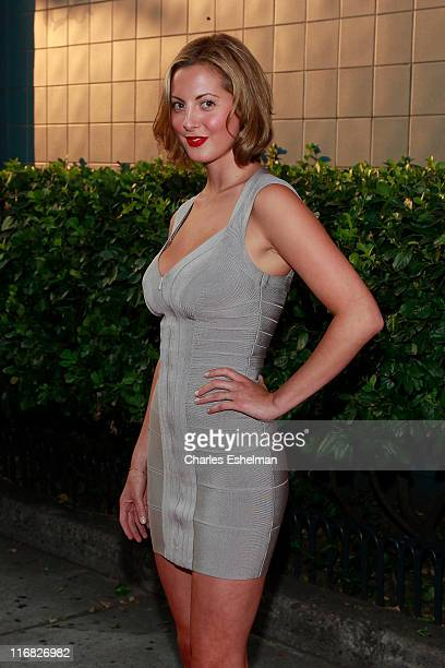 Actress Eva Amurri attends a screening of Inglourious Basterds hosted by the Cinema Society Hugo Boss at the SVA Theater on August 17 2009 in New...