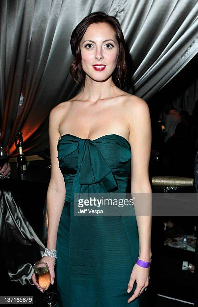 Actress Eva Amurri attends The Weinstein Company's 2012 Golden Globe Awards After Party with Chopard Marie Claire and HP at The Beverly Hilton hotel...