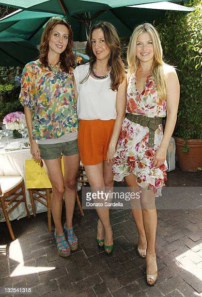 Actress Eva Amurri, designer Amalia Spinardi and actress Ali Larter attend Jo De Mer Lunch Hosted By Alexandra von Furstenberg at Il Cielo on June...