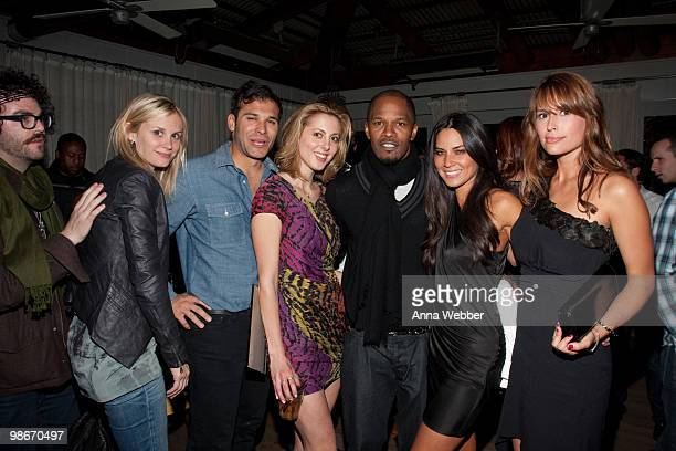 Actress Eva Amurri Jamie Foxx and guests attend the ESPiN NYC PreOscar Party at Mondrian LA's SKYBAR on March 4 2010 in West Hollywood California