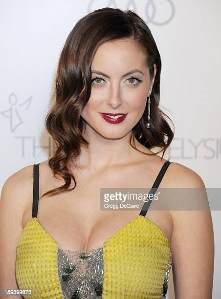 Actress Eva Amurri Martino arrives at The Art of Elysium's Heaven Gala at 2nd Street Tunnel on January 12 2013 in Los Angeles California