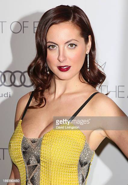 Actress Eva Amurri Martino attends the Art of Elysium's 6th Annual Blacktie Gala Heaven at 2nd Street Tunnel on January 12 2013 in Los Angeles...