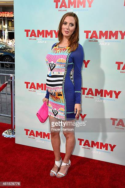Actress Eva Amurri Martino attends the premiere of Warner Bros Pictures' Tammy at TCL Chinese Theatre on June 30 2014 in Hollywood California