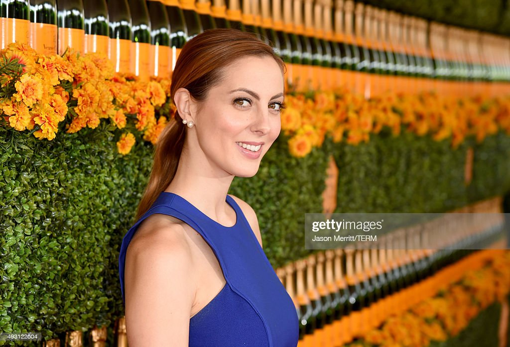 Actress Eva Amurri Martino attends the Sixth-Annual Veuve Clicquot Polo Classic at Will Rogers State Historic Park on October 17, 2015 in Pacific Palisades, California.