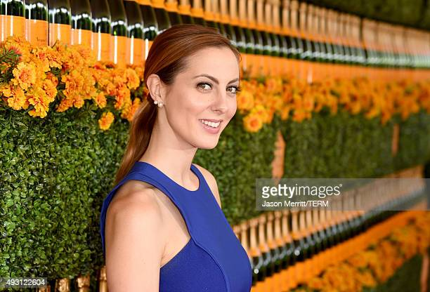 Actress Eva Amurri Martino attends the SixthAnnual Veuve Clicquot Polo Classic at Will Rogers State Historic Park on October 17 2015 in Pacific...