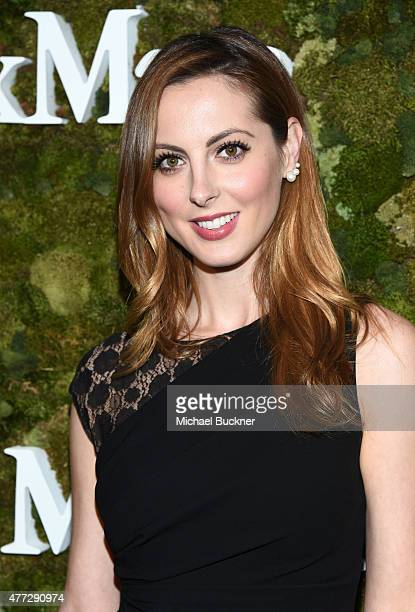 Actress Eva Amurri Martino wearing Max Mara attends The Max Mara 2015 Women In Film Face Of The Future event at Chateau Marmont on June 15 2015 in...
