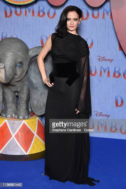 "Actress Eva Green attends the ""Dumbo"" Paris Gala Screening at Cinema Le Grand Rex on March 18 2019 in Paris France"