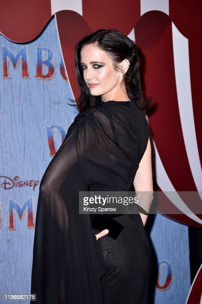 """Actress Eva Green attends the """"Dumbo"""" Paris Gala Screening at Cinema Le Grand Rex on March 18, 2019 in Paris, France."""