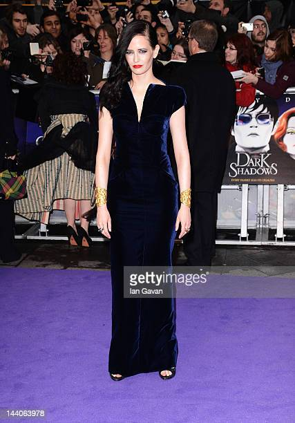 Actress Eva Green attends the European premiere of Dark Shadows at Empire Leicester Square on May 9 2012 in London England