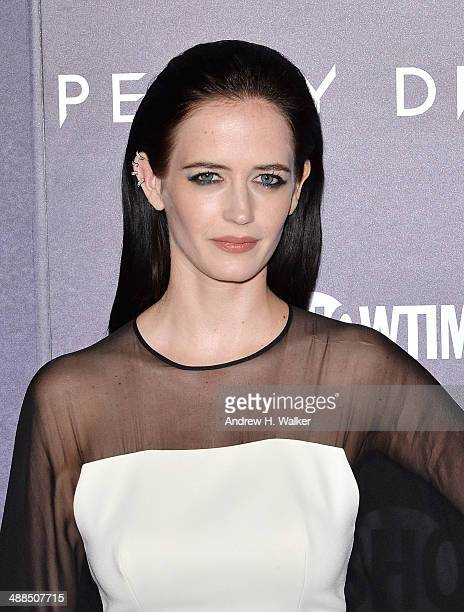 Actress Eva Green attends the 'Penny Dreadful' series world premiere at The Highline Hotel on May 6 2014 in New York City