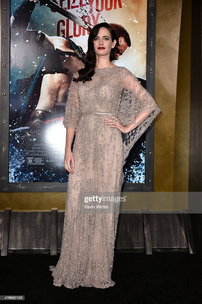 Actress Eva Green attends the premiere of Warner Bros. Pictures and Legendary Pictures' '300: Rise Of An Empire' at TCL Chinese Theatre on March 4, 2014 in Hollywood, California.