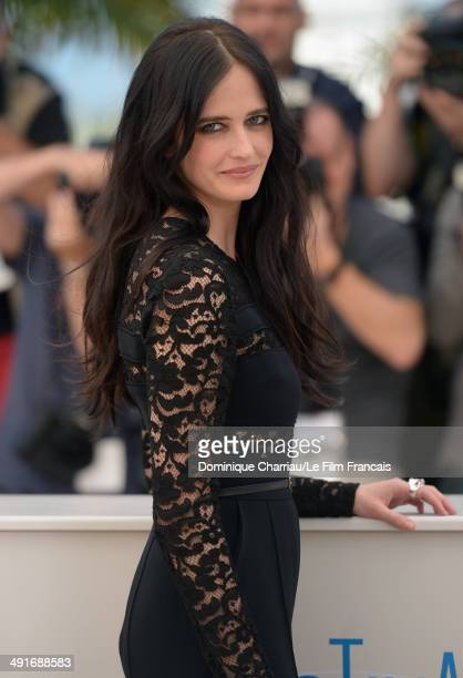 Actress Eva Green attends 'The Salvation photocall at the 67th Annual Cannes Film Festival on May 17 2014 in Cannes France