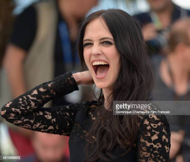 Actress Eva Green attends The Salvation photocall at the 67th Annual Cannes Film Festival on May 17 2014 in Cannes France