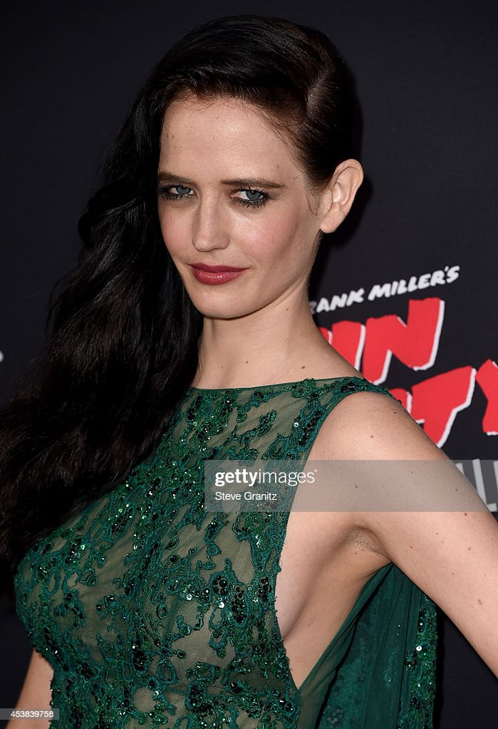 Actress Eva Green attends the 'Sin City: A Dame To Kill For' Los Angeles premiere at TCL Chinese Theatre on August 19, 2014 in Hollywood, California.