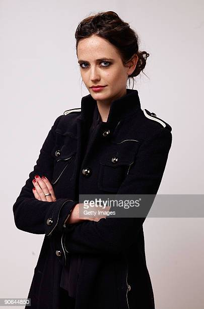 Actress Eva Green from the film 'Cracks' poses for a portrait during the 2009 Toronto International Film Festival at The Sutton Place Hotel on...