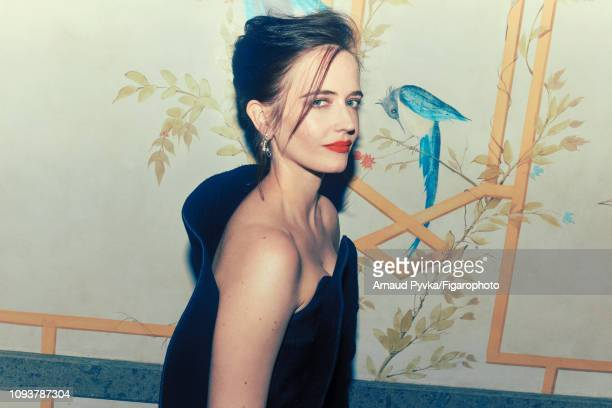 Actress Eva Green poses at a fashion shoot for Madame Figaro on June 27 2018 in Paris France Dress earrings PUBLISHED IMAGE CREDIT MUST READ Arnaud...