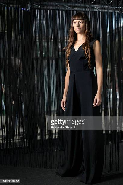Actress Eva Grieco is photographed for Self Assignment on October 15 2016 in Rome Italy