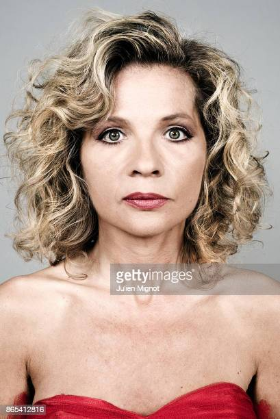 Actress Eva Ionesco is photographed for ELLE Magazine on August 2015 in Paris France