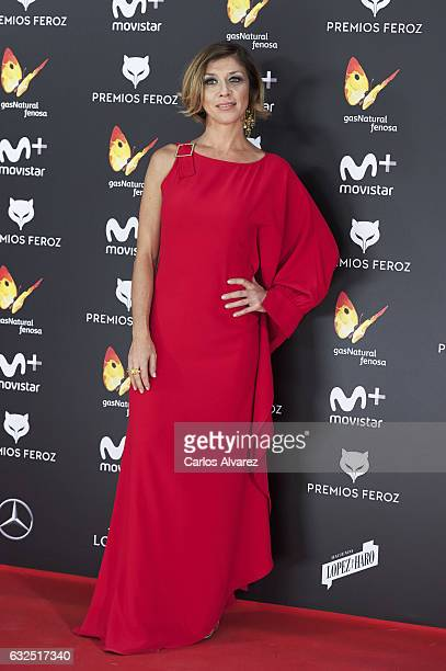 Actress Eva Isanta attends the Feroz cinema awards 2016 at the Duques de Pastrana Palace on January 23 2017 in Madrid Spain
