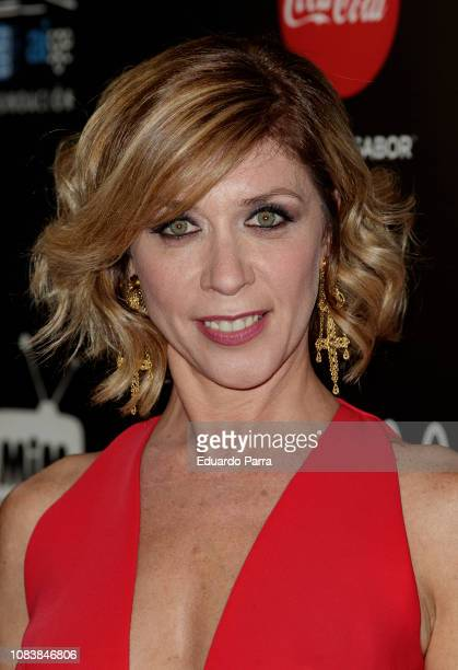 Actress Eva Isanta attends the 'MiM Series' awards photocall at Gran Maestre theatre on December 17 2018 in Madrid Spain