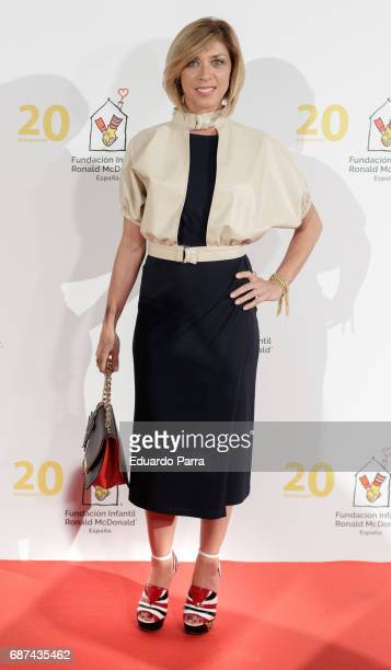 Actress Eva Isanta attends the 'Ronald McDonald children foundation' photocall at Florida Park on May 23 2017 in Madrid Spain
