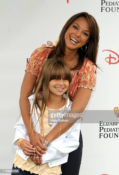 Actress Eva La Rue and daughter Kaya McKenna Callahan arrive for The 22nd Annual Elizabeth Glaser Pediatric AIDS Foundation Benefit at Wadsworth...