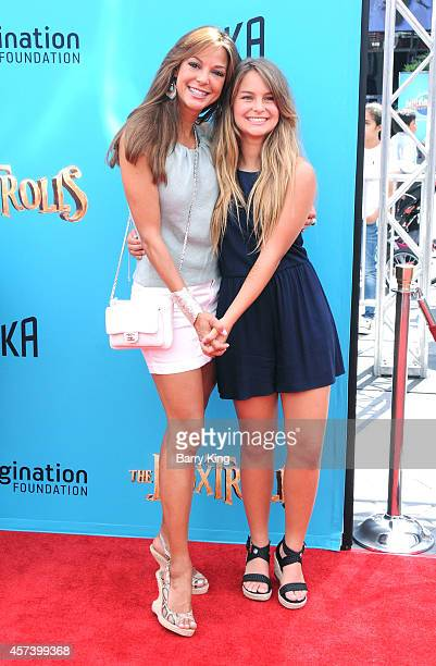 Actress Eva La Rue and daughter Kaya McKenna Callahan attend the premiere of 'The Boxtrolls' at Universal CityWalk on September 21 2014 in Universal...