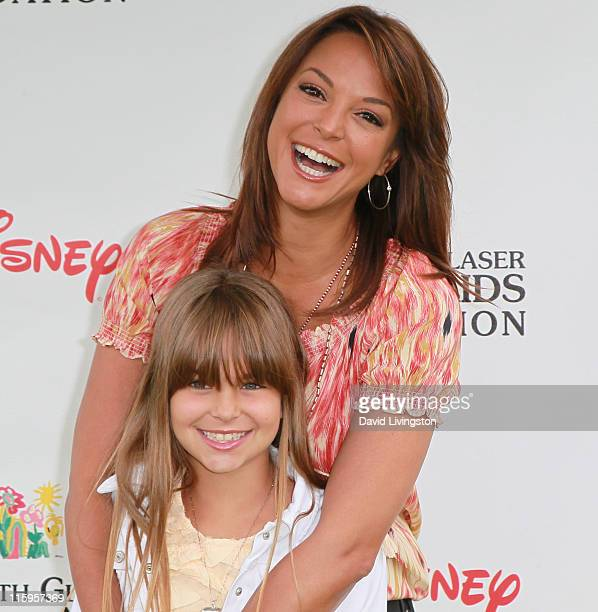 Actress Eva La Rue and daughter Kaya McKenna Callahan attend the Elizabeth Glaser Pediatric AIDS Foundation's A Time For Heroes Event at Wadsworth...