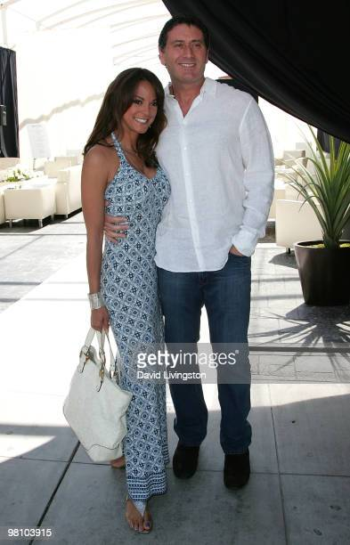 """Actress Eva La Rue and fiance businessman Joe Cappuccio attend the """"Unveiled:Bridal Style Revealed"""" showcase along Melrose Place on March 28, 2010 in..."""